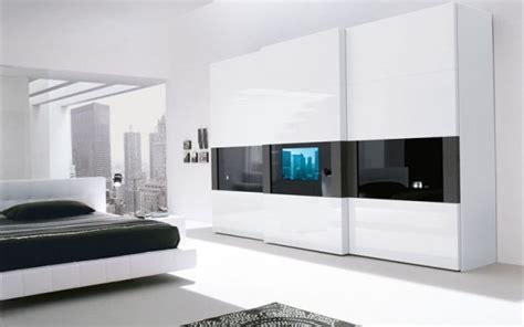 mogno mobilya fashion bedroom super modern bedroom wardrobe with a tv built in the door