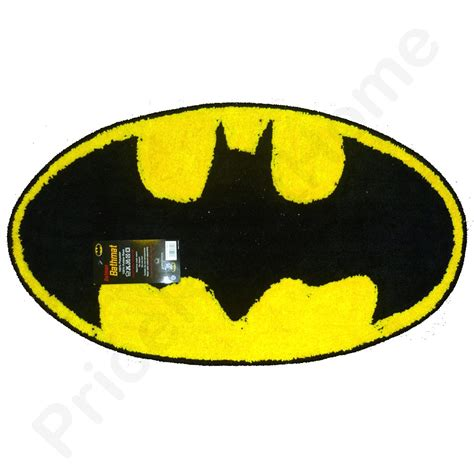 Batman Bathroom Rug Batman Bath Mat Floor Rug New Sealed Official Ebay
