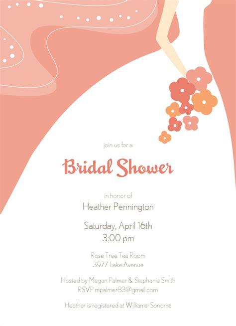 Free Bridal Shower by Graceful Bridal Shower Invitation