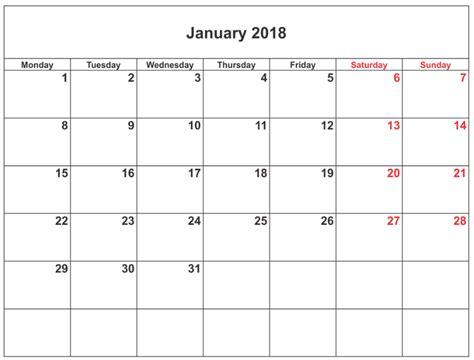 printable calendar editable 2018 january 2018 calendar editable calendar template letter