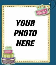 edit a birthday card by adding a digital picture frame to