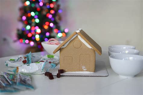 christmas gingerbread house to buy simple tips for decorating a gingerbread house with kids