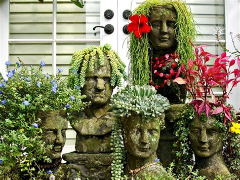 unique outdoor planters 13 unusual and upcycled container gardens diy