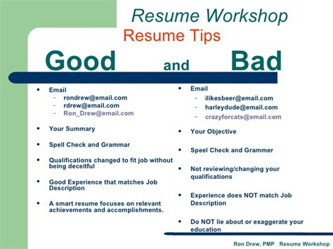 resume exles and bad resume ixiplay free resume