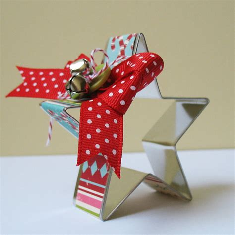 cookie cutter ornament by cardblanc on etsy
