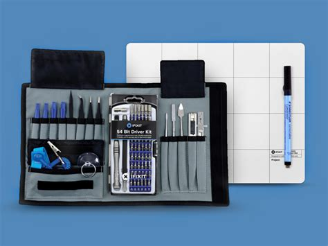 Ifixit Magnetic Mat by Ifixit Pro Tech Toolkit Bundle With 70 Tools And