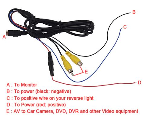 wireless rear view and monitor wiring diagram truck