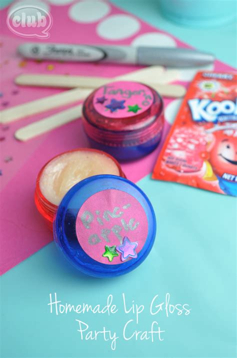 diy crafts for tweens tween lip gloss diy for