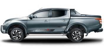Mitsubishi Triton Colours 2016 The New Mitsubishi Triton