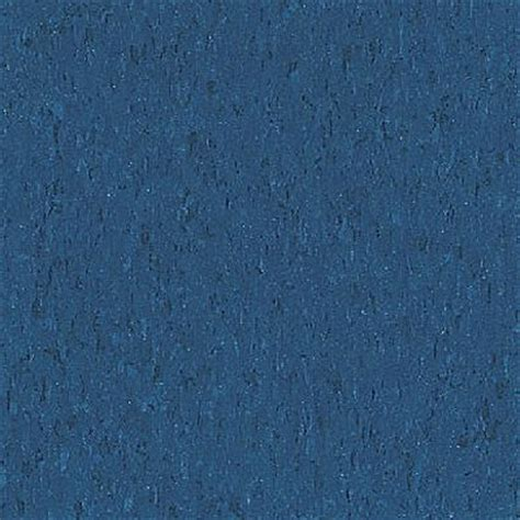 Blue Floor by Armstrong Commercial Tile Imperial Texture Gentian Blue