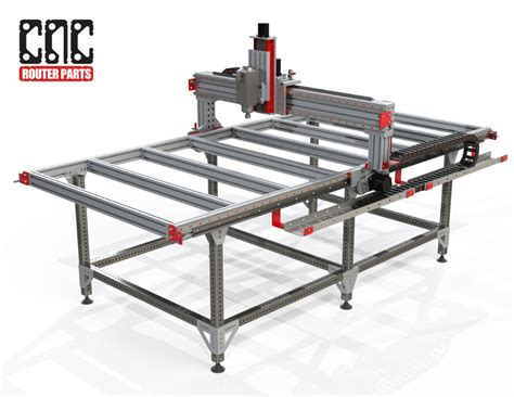 cnc router table kit 4 x 8 cnc router kit pro4896 5 100 linear bearing