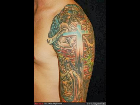 religous tattoo photos of religious design