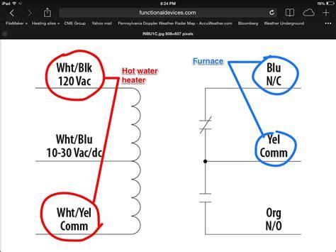 ribu1c relay wiring diagram 27 wiring diagram images