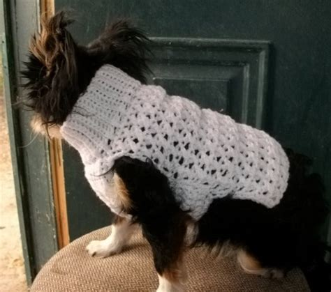 patterns for dog sweaters crochet copper llama studio crochet dog sweaters pdf patterns