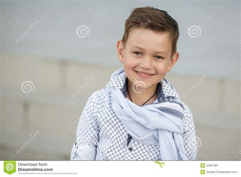 Kid Cuteboy boy happy kid outdoors stock photo image 43967381