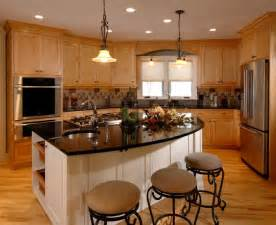 Kitchens With Light Maple Cabinets Black Granite From Custom Stone Interior Similar To