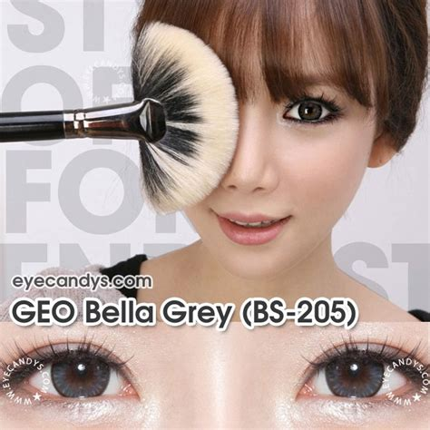 geo bella grey circle lenses colored contacts geo bella series circle contacts authentic colored circle