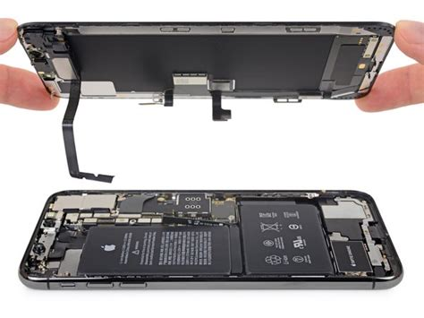 iphone xs max display assembly replacement ifixit repair