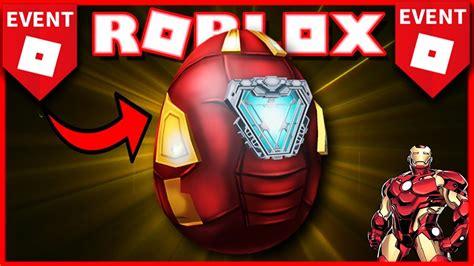 evento consigue huevo iron man avengers roblox egg