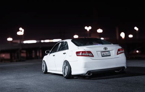 Toyota Camry Stance Wallpaper White Camry Toyota Camry White