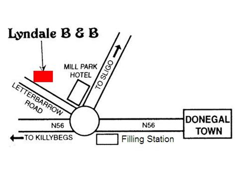 How To Find In Ireland How To Find Lyndale B B Donegal Town Co Donegal Ireland