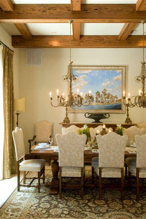 associates in interior design italian villa mediterranean dining room other metro by benson associates interior design