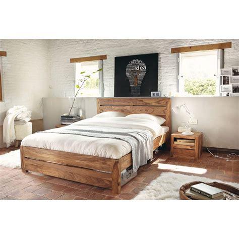 letto 160x200 letto 160x200 in massello di legno di sheesham stockholm