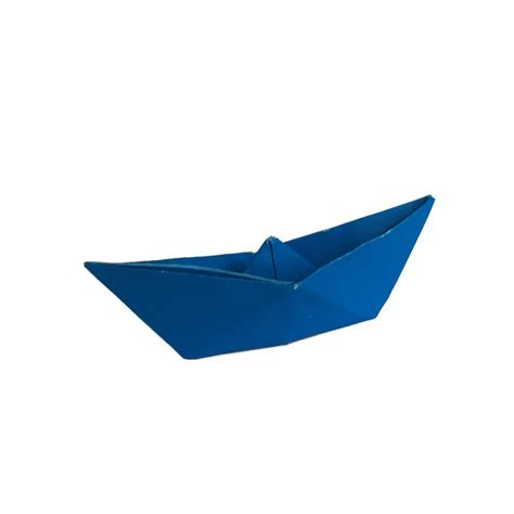 San Boat Origami - traditional boat with origami expressions