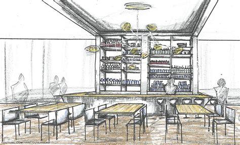 interior design rendering programs hotel bar concept sketch sketch rendering vcad s