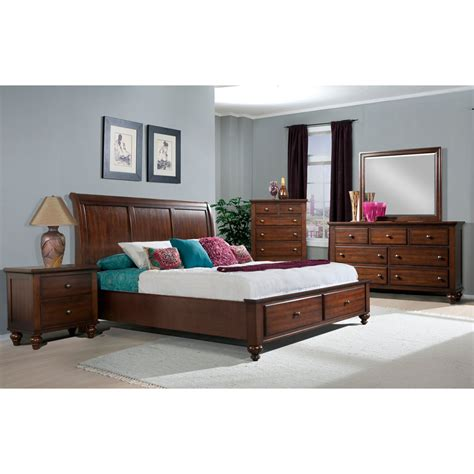 Bevelle 5 Bedroom Set by Newport Storage Five Bedroom Suite King Bed