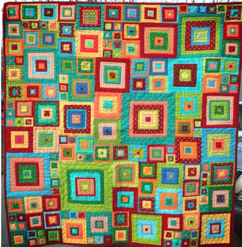Glorious Patchwork - squares quilt and squares runner your splash