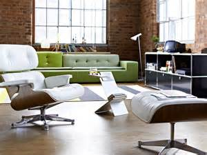 Charles Eames Lounge Chair White Design Ideas Vitra Lounge Chair Ottoman White Version By Charles Eames 1956 Designer Furniture By
