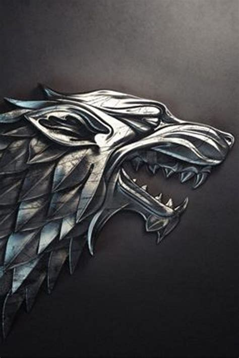 house stark sigil download house stark sigil wallpapers to your cell phone direwolf game of thrones