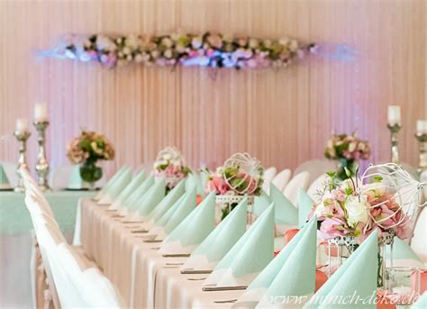 Deko Mint Hochzeit hochzeitsdeko mint rosa execid