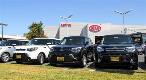 Kia Car Lot Capitol Kia 44 Photos Car Dealers Willow Glen San