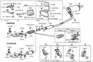 2000 Toyota Camry Exhaust System Diagram 2000 Toyota Exhaust Diagram Wedocable