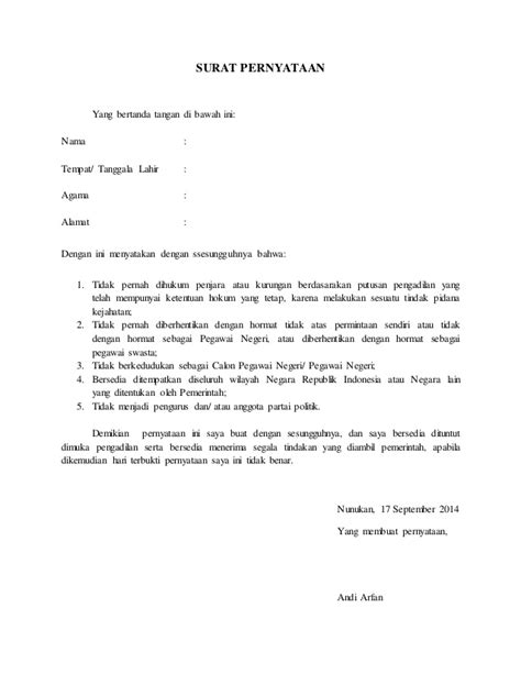 format surat pernyataan bersedia ditempatkan di seluruh indonesia contoh surat pernyataan bersedia ditempatkan diseluruh