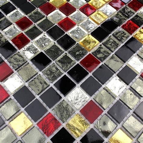 Credence En Mosaique by Mosaique Verre Cr 233 Dence Cuisine Verre Mosa 239 Que