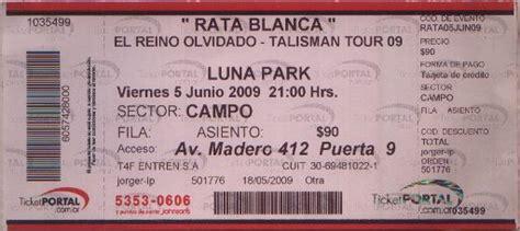 entradas para maluma luna parck junio 2016 rata blanca talisman tour 5 de junio en el luna park cayu