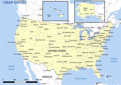 map of the united states free free maps of the united states mapswire