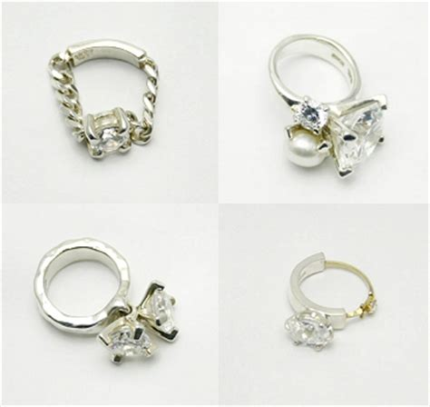 2007 Jewelry Fashion Alert Nersels Designer Trendy Gold Jewelry by November 2007 The Carrotbox Modern Jewellery And