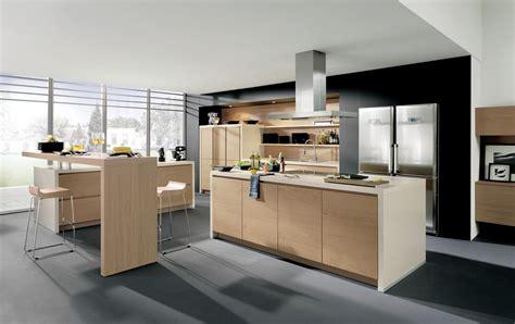innovative kitchen cabinets cuisine design sans poign 233 es en bois