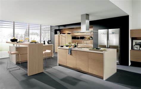 cucine designe cuisine design sans poign 233 es en bois