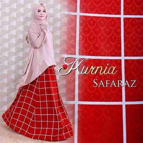 Setelan Blouse Trendy 4 grosir baju muslim trendy murah safaraz by kurnia