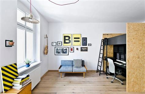 kid friendly multifunctional design studio  apartment