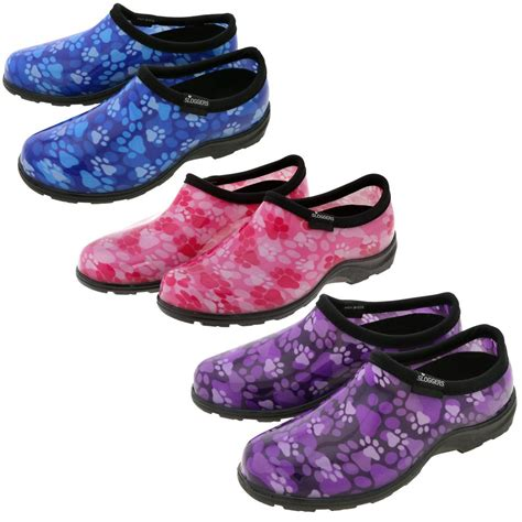 garden shoes sloggers 174 paw print garden shoes the animal rescue site