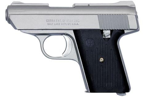 Cobra 380 Auto Pistol by Cobra Enterprise Inc Ca380 380 Acp Satin Nickel Carry