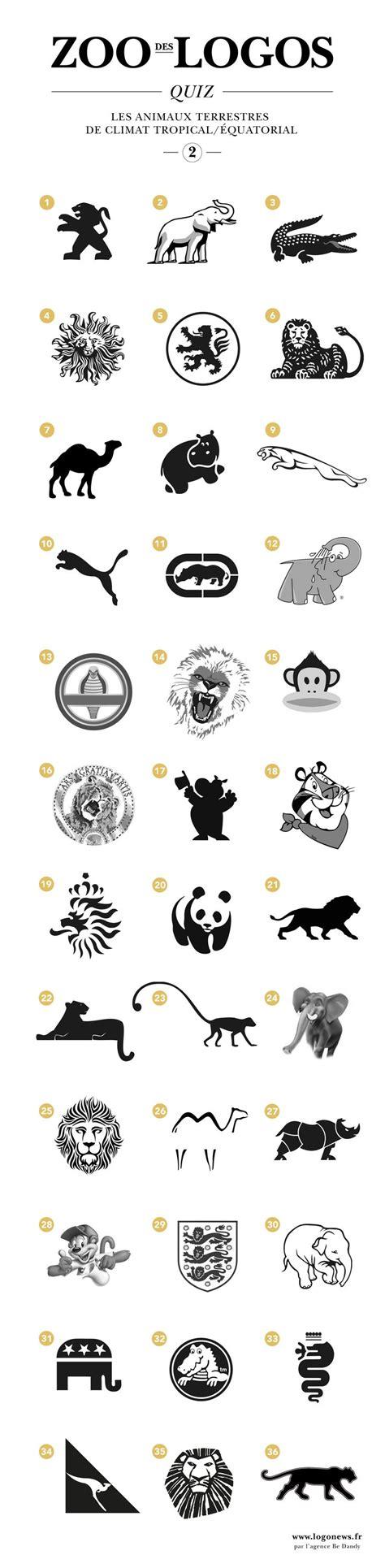 quiz design inspiration quiz le zoo des logos 2 design och inspiration
