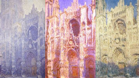 Pop Up Home by Monet S Canvas Cathedrals A Life Study Of Light Npr