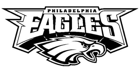 eagles black and white logo images